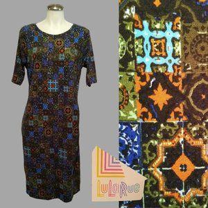 LuLaRue JULIA Dress Size XL Simply Comfortable